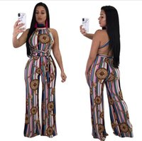 Wholesale traditional fashion clothes - new style african Traditional clothing dahiki 100% cotton bazin large elastic print famous african jumpsuit for women