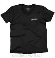 buenos señuelos al por mayor-Zombie Bass Fisher Camiseta | Outdoorsy Gear Sporting Good Lure Camiseta con cuello en V Camiseta Camiseta de manga corta informal