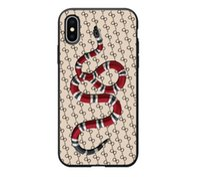 carregadores venda por atacado-2019 Marca Criativa Tide iPhoneXS MAX caso de telefone móvel Cobra matte caso de telefone móvel personalizado designer de telefone caso carregador portátil