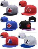 personalizar snapbacks gratuitos venda por atacado-Atacado BLUE JAYS Snapbacks chapéu Hip Hop América Chapéu Esportes moda ao ar livre cap personalizado chapéus 10000+ sytles shiipping livre