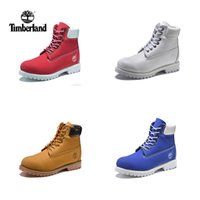 Wholesale mens leather casual boots - HOTSALE 2018 New Timberland Mens Designer Sports Running Shoes for Men Sneakers Casual Trainers Women Luxury Brand Retro boots