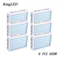 Wholesale Very Chip - 6 pcs 600W LED Grow Light KingLED Double Chips Full Spectrum For Indoor Plants and Flower Phrase Very High Yield LED Grow Light