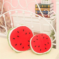 Wholesale car quilts for sale - Group buy 2018 Hot Sell Cartoon Multifunctional Watermelon Pillow Cushions Quilt Dual use Lunch Break Car Cool Summer Quilts