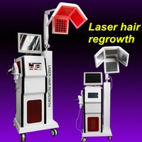 Wholesale Laser Hair Machines For Sale - Multifunctional laser hair regrowth machine Diodes Laser Hair growth restoration LLLT therapy treatment Anti-hair Removal equiment for sale