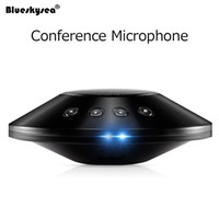 Wholesale Usb Conference Microphone - M39S Omnidirectional Conference Microphone Noise Reduction DSP Technology Stereo Conference Microphone Wired USB Loudspeaker Mic