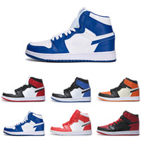 official photos 334f7 dd45c 1s Mid OG 1 Top 3 Herren Basketballschuhe Hommage an die Heimat verbannt gezüchtet  Chicago UNC Royal Blue Shattered Backboard übergeben die Fackel Männer ...