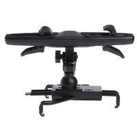 держатель сидения для планшетов оптовых-Backrest Seat Mount Holder Universal 360 Degree Adjustable Car Backrest Seat Mount Holder For Tablet 7