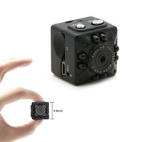 Wholesale smallest mini dv - Mini DV Camera Full HD Small Camera 1080P 12MP Portable Micro Video Camera with IR Night Vision Motion Detection Security Surveillance Cam