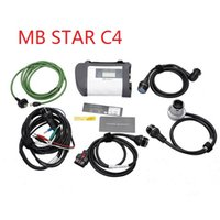 Wholesale c4 scanner - OBD2 scanner MB SD C4 Connect Compact 4 Star Diagnosis with WIFI for Cars and Trucks Multi-Langauge diagnostic tool
