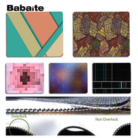 Wholesale geometry games - Babaite Hot Sales Abstract geometry Silicone Pad to Mouse Game Size for 18x22cm 25x29cm Rubber Mousemats