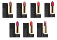 barras de labios 3.8g al por mayor-Famosa marca Y5L Lápiz labial mate dorado atracción Lápiz labial Navidad tipo limitado 6 colores labio escarpado 3.8 g / pcs compras libres