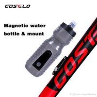 carbon golfschläger großhandel-Costelo Cycling Club Radfahren Fahrrad Wasserflaschen Sportwasserflasche 710 ml Magnetische Flaschenhalterung Wasserflasche Golf Raph