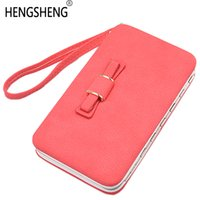 Wholesale girls passport holder for sale - Group buy Wristlets Handy Phone Ladies Female Wallets Women Coin Purse Brand Clutch Bag For Girls Money Card Holder Cute Walets Portomonee