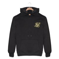 Wholesale gym hoodies for men resale online - Men s gyms Kanye West Sik Silk Hoodies Jackets for men s Sweatshirt casual Bodybuilding leisure suit Breathable