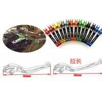 Wholesale cnc levers kawasaki resale online - 2018 Colors Short CNC Brake Clutch Levers For KAWASAKI ZX6R ZX636R ZX6RR ZX10R Z1000 ZZR600