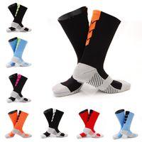 harajuku tarzı çoraplar toptan satış-Adam Orta Tüp Ayak Bileği Beş Parmak Ayak Çorap Sanat Harajuku Sıkıştırma Çorap Antiskid Basketbol Çorap 10 Stilleri Destek FBA Drop Shipping G465Q