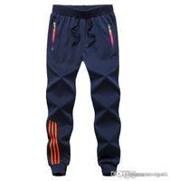 pantalones para niños al por mayor-Casual Brand deportes para hombre Joggers Harem más el tamaño L-5XL jogging 2018 hombres ocasionales de los muchachos del basculador de las bragas masculinas Sweatpants Pantalones