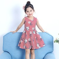 Wholesale New Beautiful Shirts - 2018 New Summer Girls beautiful stripe printed jumper the princess shirt