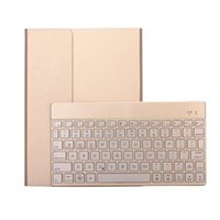 Wholesale Pink Keyboard Case For Ipad - Removable Bluetooth Keyboard Case For ipad Pro 9.7 inch Air 2 Tablet PC Wireless Leather Cover With LED Backlight