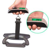 ingrosso scala portatile del peso dei bagagli di viaggio-Bilancia elettronica portatile per bagagli da viaggio in scala digitale