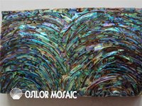 Wholesale natural abalone sea shell laminate for jewel case and musical instrument and furniture inlay SL0422 pieces per