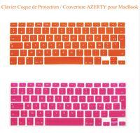 teclado a1465 venda por atacado-Europeu da UE / reino unido euro inglês tampa do teclado de silicone para macbook air 11 '' polegadas a1370 a1465 teclado protetor de filme
