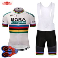 Wholesale cycling kits - Bora Cycling Jersey Pro Team Mountain bike clothing bicycle wear clothes Breathable Short Maillot Culotte cycling Kit