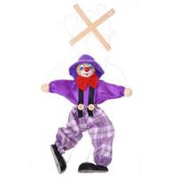 Wholesale Toys Clown Doll - Wholesale- 1pcs children's doll clown toy - random color