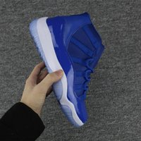 Wholesale Fasion Shoes - New Retro Mans High Quality fasion 11 Shoe Wmns Premium Lifestyle Sneakers Legend Blue Men Women Sports Shoes athletic comfortable shoe