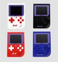 ingrosso zy-CoolBaby Mini console di gioco portatile RS-6 Mini console di gioco portatile retro LCD a colori da 2,5 pollici Player per FC Game A-ZY