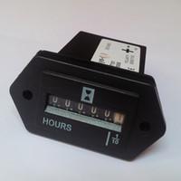 contadores industriales al por mayor-Contador electrónico completamente sellado del cuarzo Contador impermeable SYS-1 de la hora AC AC 0.3W Contador impermeable para la sincronización industrial