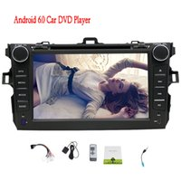 Wholesale dvd corolla touch screen - EinCar 7'' Car Radio Stereo Car DVD Player GPS Android 6.0 1GB RAM Quad Core for Toyota Corolla 2007-2013 indash Head unit