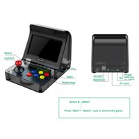 Wholesale RETRO ARCADE Portable Mini Handheld Game Console GB inch bit can store Games Family Game Console with retail box colors