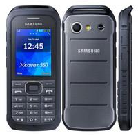 telefone 2g desbloqueado venda por atacado-O núcleo duplo original de Samsung B550H 2.4 avança a câmera 2MP 1500mAh 2G GSM 3G WCDMA telefones móveis destravados recondicionados