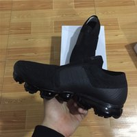 Wholesale Sneakers Belts - Men Running Shoes New Vapormax moc black belt For Men Sneakers Women Fashion Athletic Sport ShoeWalking Free Shipping With Box