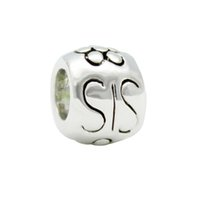 ожерелье ювелирный дизайн оптовых-Original design  of charm and sisters DIY jewelry amulet charm  Fit  Bracelet Necklace