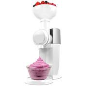 milkshake dondurmalar toptan satış-Eu Tak ile Çevre Dostu Otomatik Dondurulmuş Meyve Tatlı Makinası Diy Meyve Dondurma Makinesi Milkshake Makinesi Dondurma Aracı