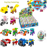Wholesale dog block resale online - Lol suprise egg Block Puzzle Ocean squad The car man Dog Dog Search and rescue team Children s puzzle toy
