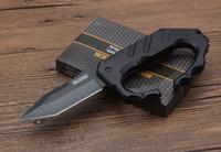 cuchillos de caza para la venta al por mayor-Venta caliente Rescate táctico al aire libre Camping Supervivencia Cuchillo de caza TF750 EDC Herramienta multiusos Defensa Karambit EDC herramientas Envío gratis