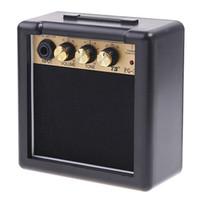 elektrik gitar amplifikatörleri toptan satış-3 W MINI AMP Taşınabilir Elektro Gitar Amplifikatör Amp Akustik Gitar Amplifikatör