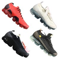 Wholesale newest casual shoes - 2018 WMNS Vapormax FK Running Shoes Designer Virgil Trails Sport Sneakers Newest Casual Outdoor Trainers A++ Quality with Double Box