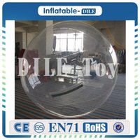 Wholesale inflatable walking zorb pvc ball online - 0 mm PVC m Inflatable Water Walking Ball Water Balloon Zorb Ball Inflatable Human Hamster Ball