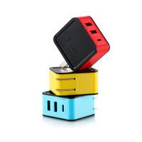 adaptateur android pour iphone dock achat en gros de-Chargeur de téléphone Remax RP-U24 2 USB 3.4A Chargeur rapide USB Chargeur Adaptateur Type C Chargeur de voyage universel Pour IOS Téléphones Android