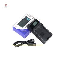 Wholesale np battery charger - NP-40 CNP40 NP40 USB LCD Display Digital Camera USB Battery Charger For Camera 55 57 Z100 Z300 Z400 Z450 FC100 Battery
