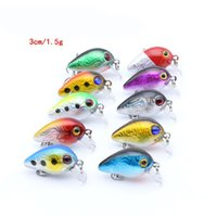 Wholesale 3cm lures for sale - Group buy 3cm Super Mini Lures Baits For Fishing Sports Artificial Fake Pesca With Hook Lightweight Tackle Colorful Attract The Fishes bz ZZ