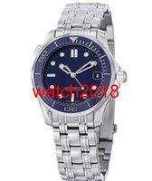 ingrosso 36 rs guarda-Orologio di lusso in acciaio nuovo braccialetto-Cronometro-blue-Mens-Watch-212-30-36-20-03-001-M / R 40 millimetri meccanica Moda uomo dell'orologio della vigilanza