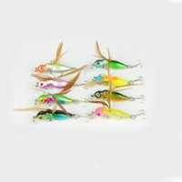 Wholesale fishing lures for sale - Group buy Mini Simulation Insect Lures Baits For Sports Fishing Pesca Creative Fake Tackle Special Shape Design Fishing Hooks Super Light hr ZZ