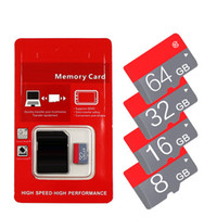Wholesale Genuine Micro Sd Cards - 2018 Genuine HOT!!! 16GB 32GB 64GB Micro SD Card SDXC C10 TF Card Micro SD Card with retail package free shipping