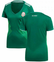 8ad02cb7b mexico national team jerseys UK - women 2018 national team Mexico home away soccer  jersey thai