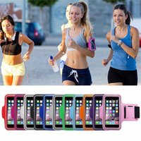 Wholesale s3 brands covers resale online - Waterproof Sports Outdoor Armband Arm Band Pouch Phone Case Cover for IPhoneX plus Samsung S3 S4 S5 S6 S8 NOTE5